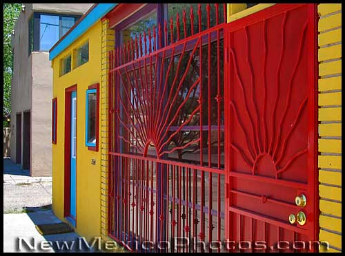 bright colors in downtown albuquerque