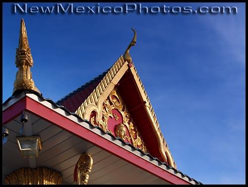 Wat Buddhamongkolnimit Buddhist temple in Albuquerque