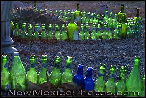 green bottles at the aztec motel in albuquerque