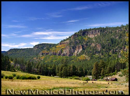 fall approaches the Jemez
