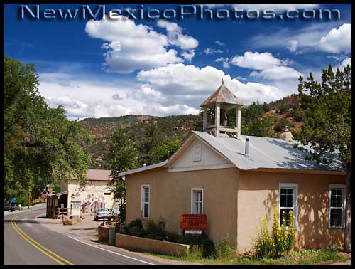 little church in jemez springs