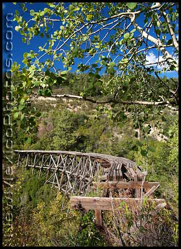 mexican canyon trestle near cloudcroft