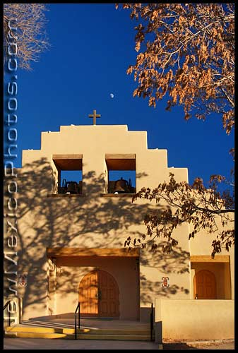 our lady of guadalupe church in pena blanca, new mexico