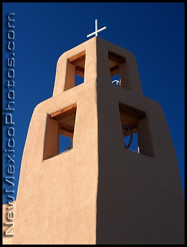 santa maria de la paz church in Santa Fe