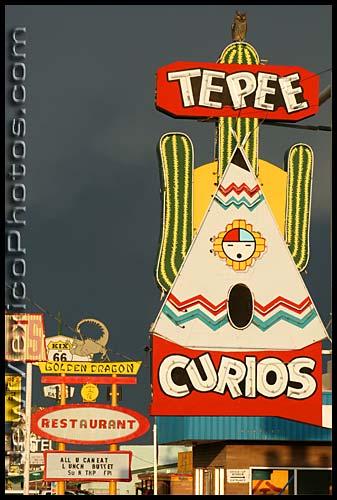 tepee curio store in tucumcari