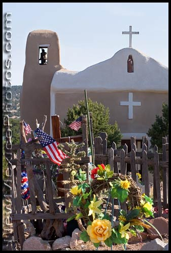 church and graveyard in Golden