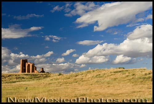 Ruins of the old church at Abó, part of the Salinas Pueblo Missions National Monument