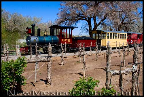 The little train that runs between the Botanic Garden and the Zoo chugs through Heritage Farm