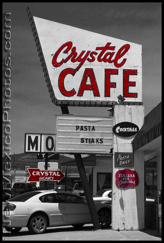 The Crystal Cafe, in Raton