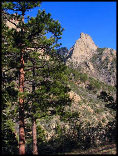 One of a number of spectacular views from La Luz Trail, heading up the west side of the Sandias