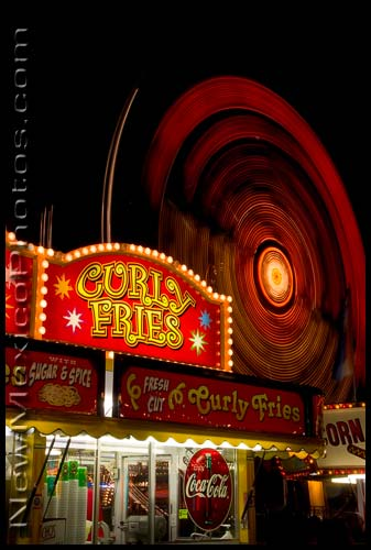 curly fries at the New Mexico State Fair