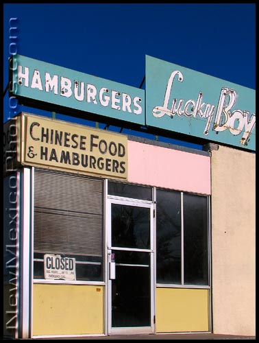 lucky boy restaurant: chinese food and hamburgers